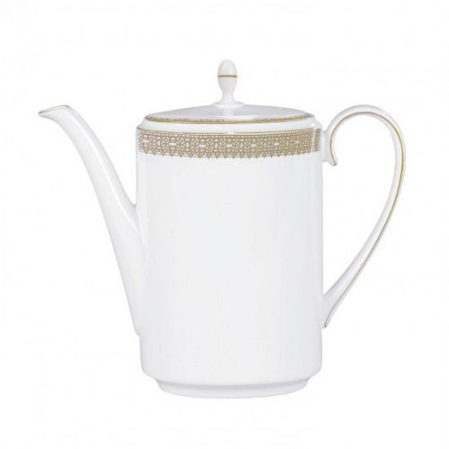 Vera Wang Lace Gold Coffee Pot